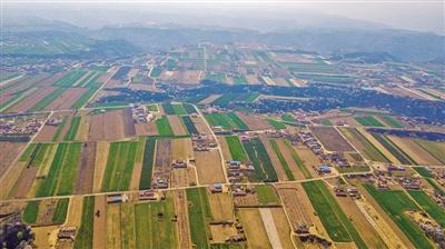 西峰区农田航拍