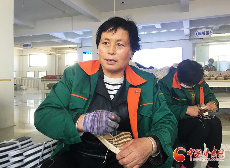 """""""造血""""致富 临夏县步鞋产值逾2.4亿"""