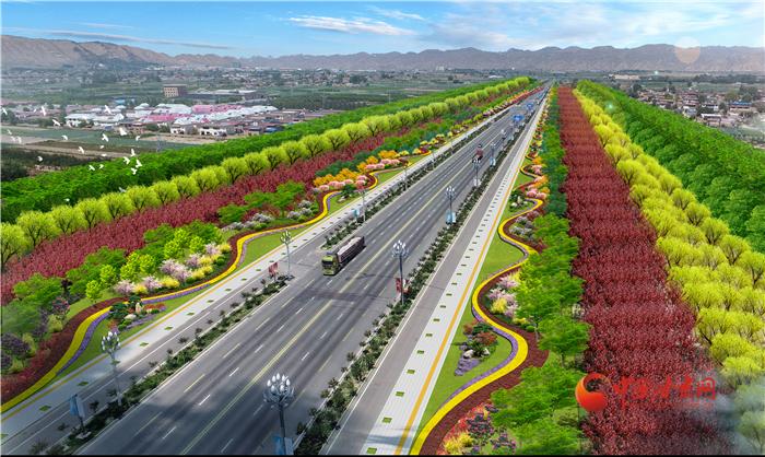 抢先看!!!兰州榆中生态创新城未来绿化有多美