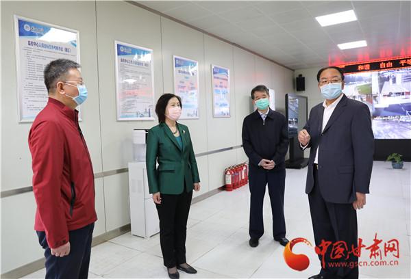 甘肃省副省长张世珍调研兰州大学疫情防控和复学准备工作