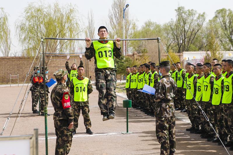考核全程公开透明!武警甘肃总队执勤支队组织2020年士官培训对象选拔工作