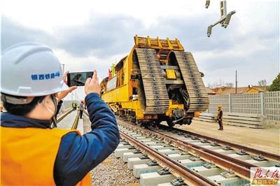 今年,庆阳就能通高铁了
