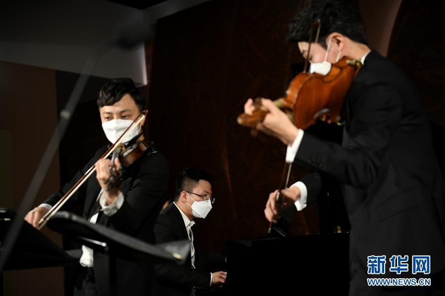 """(文化)(3)西安:博物馆""""云上国宝""""音乐会加紧彩排"""