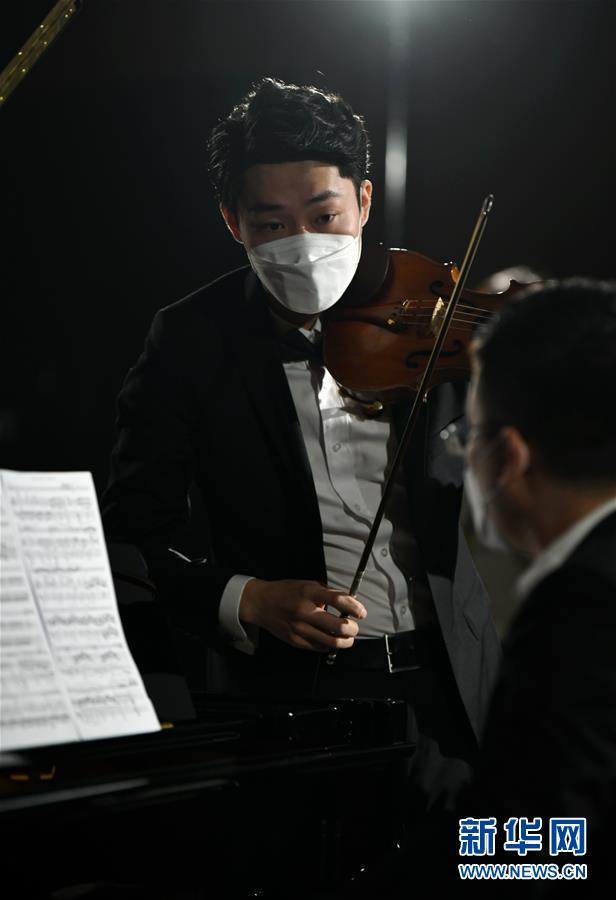 """(文化)(7)西安:博物馆""""云上国宝""""音乐会加紧彩排"""