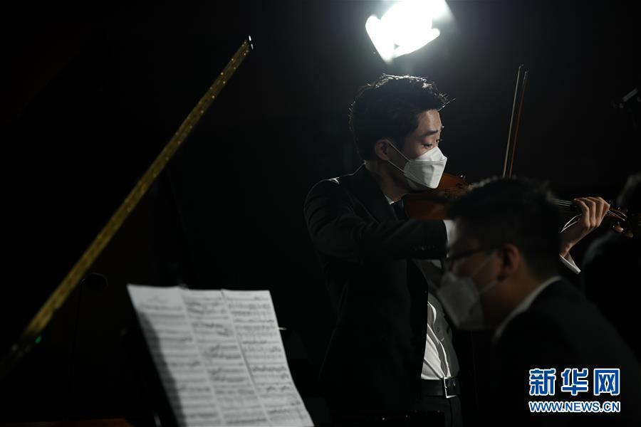 """(文化)(2)西安:博物馆""""云上国宝""""音乐会加紧彩排"""