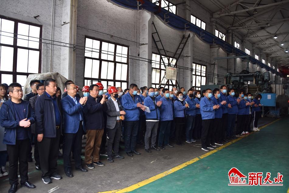 星火机床公司向天水工业博物馆捐赠展品