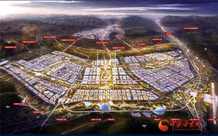 榆中生态创新城建设开启加速度 全力打造兰州城市副中心