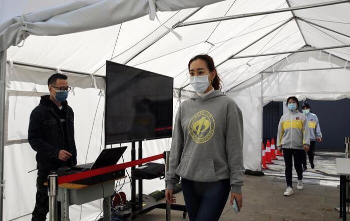 北京:高三年级举行试开学演练