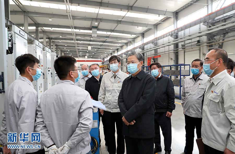 赵乐际在甘肃调研时强调 紧紧围绕统筹疫情防控和经济社会发展决策部署跟进监督保障落实