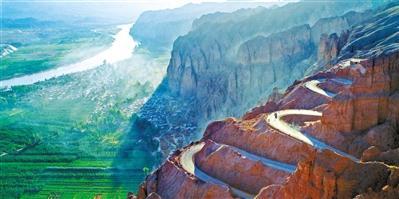 五一游甘肃丨逛黄河石林 感受大自然的鬼斧神工