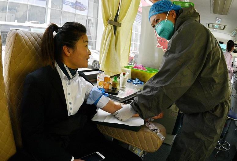 西藏:爱心献血