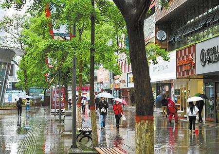 甘肃省迎来今年第一场透雨 对缓解目前干旱非常有利