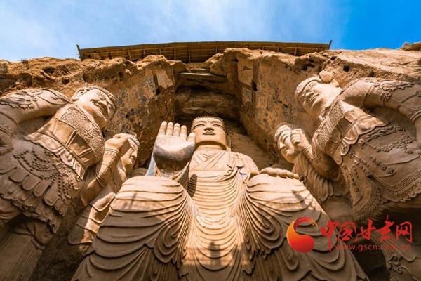 天梯山石窟 一束中华文明的瑰丽霞光(图)