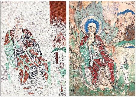 【视点】敦煌壁画的再创作临摹——简评高山的敦煌画