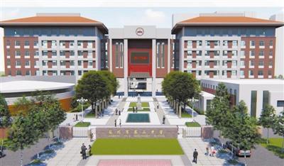 兰州二中雁滩新校今年7月竣工 今秋计划招生14个班700人