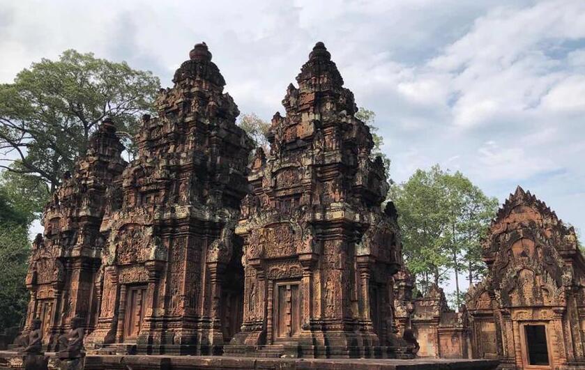 疫情下的柬埔寨吴哥古迹