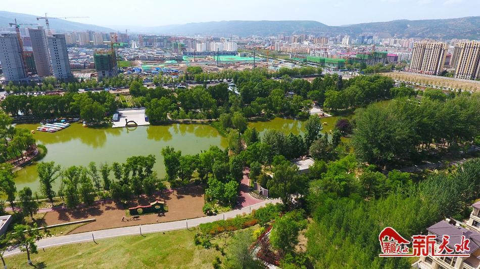 天水:国土绿化 扮靓高质量发展