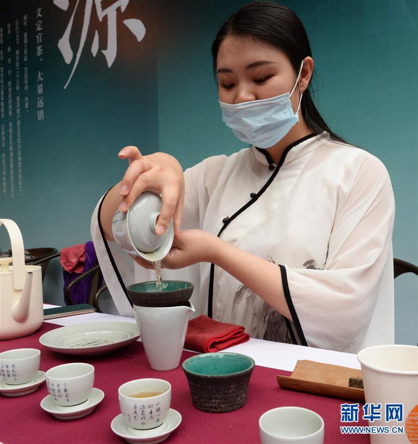 (社会)(2)长沙:国际茶日品茶香