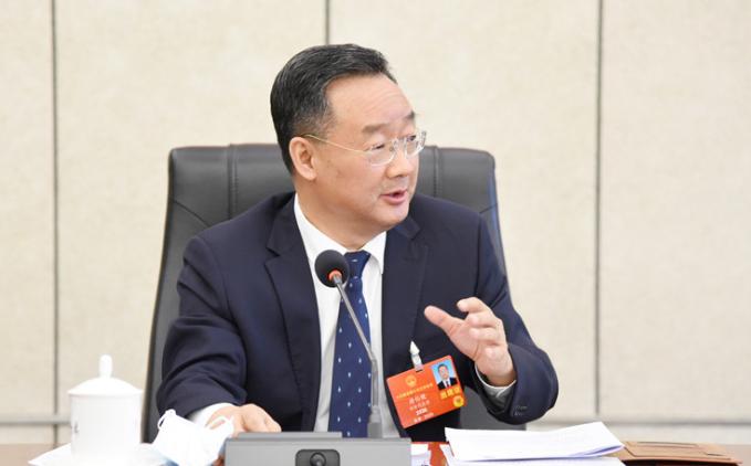 唐仁健在甘肃团审议政府工作报告时说 报告彰显定力和能力 传递决心与信心