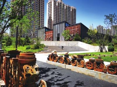 兰州市首座公益性工业遗址公园向市民开放