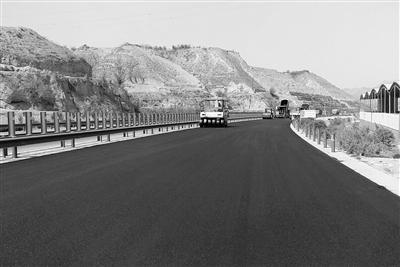 盐什公路预计6月底前通车 盐场堡至什川车程将缩短为20分钟