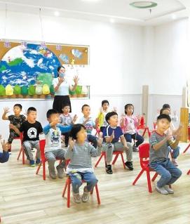 甘肃省幼儿园大班迎来开园季