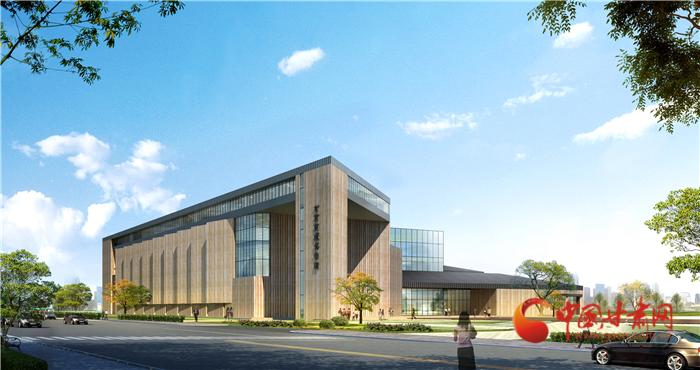 现场直击!甘肃简牍博物馆正在加快建设,明年年底开馆