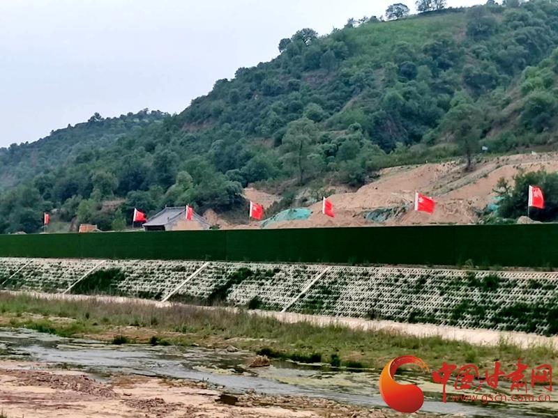 【美丽中国 生态甘肃】南梁镇:绿色工程扮倩红色旅游小镇