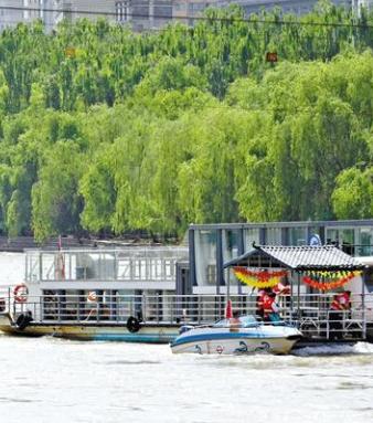 兰州:黄河救援大演练