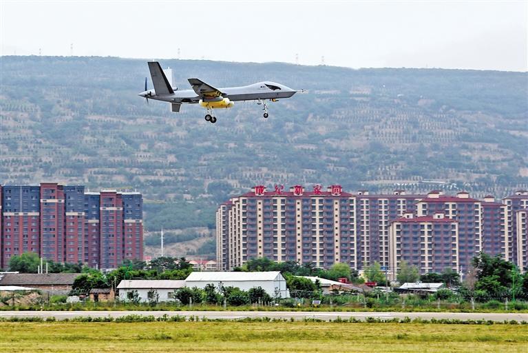 无人机人工增雨项目在天水机场试飞成功