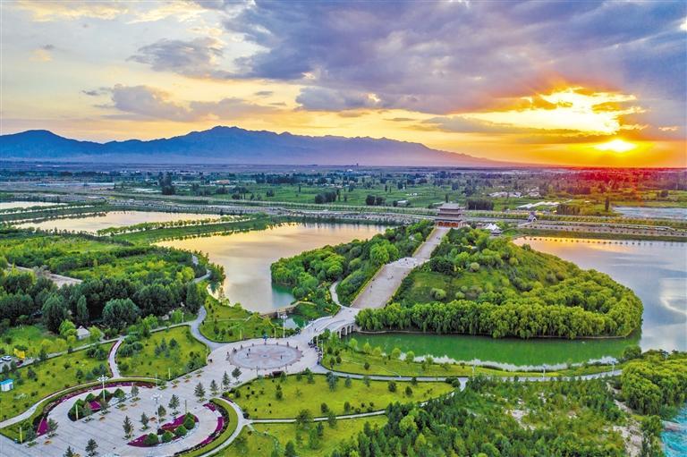 张掖临泽县红色旅游有体验乡村旅游有看头