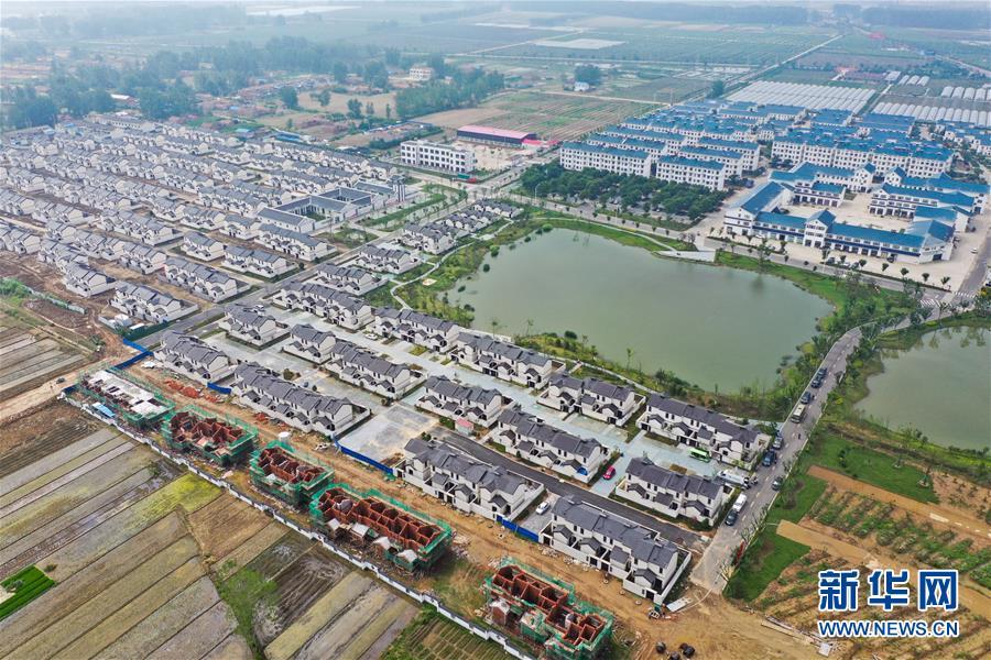 (社会)(1)江苏泗阳:推进农房改善 建设美丽社区