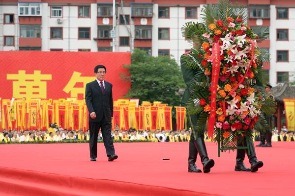 2020(庚子)年公祭中华人文始祖伏羲大典隆重举行 林铎唐仁健欧阳坚等出席