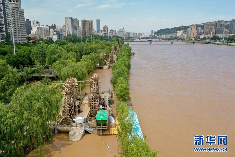 (环境)(3)持续降雨致黄河兰州段水位上涨