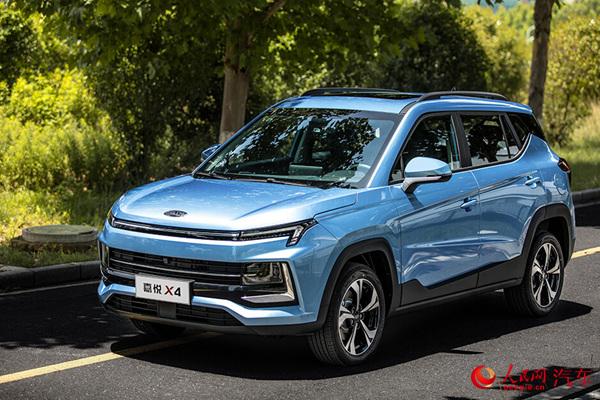 布局小型SUV细分领域 江淮嘉悦X4正式上市