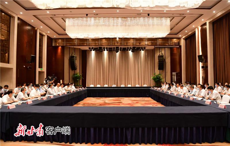 甘肃陕西签署经济社会发展合作框架协议 唐仁健出席并讲话