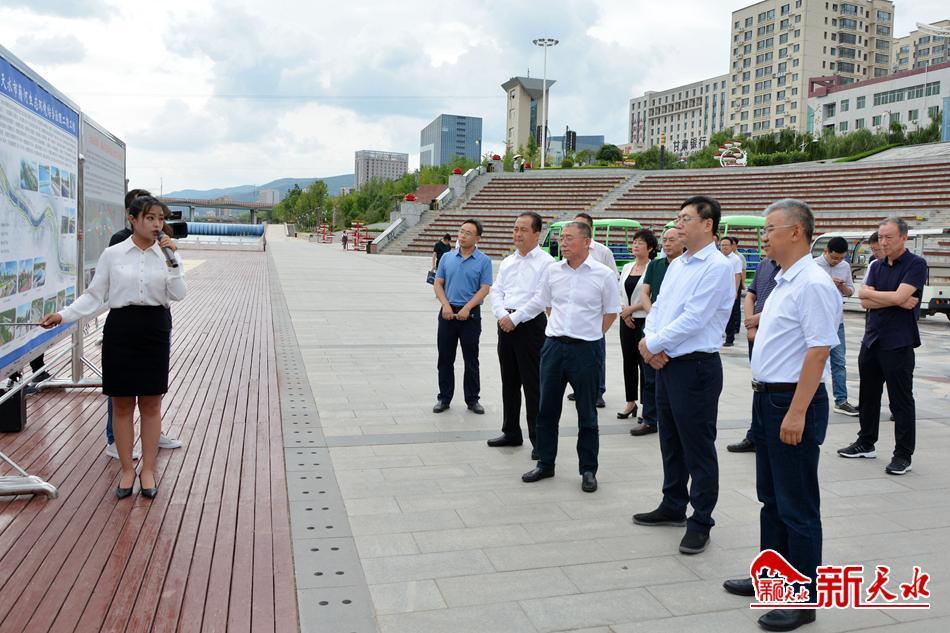 程晓波调研天水市经济社会发展工作