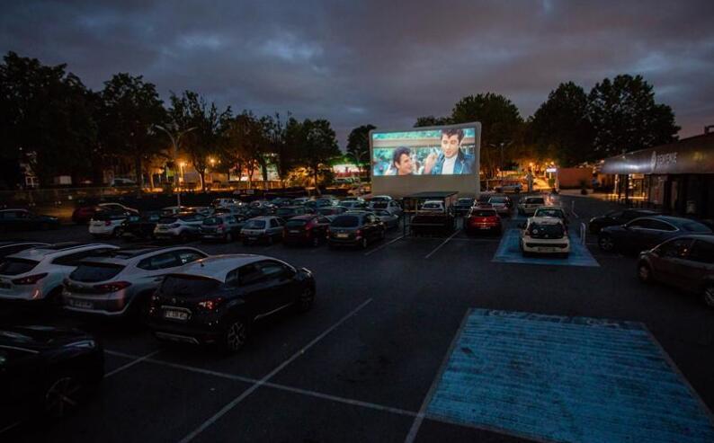 法国:周末的汽车电影院