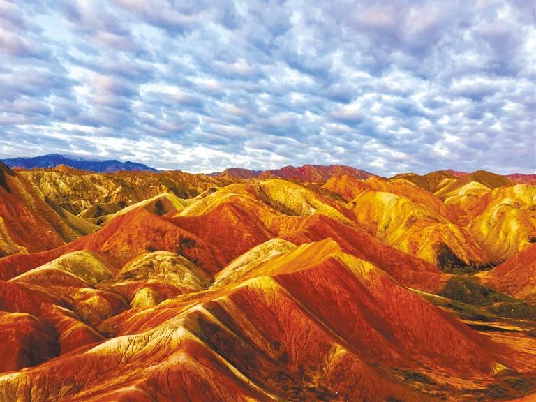 喜讯!张掖地质公园成功晋级世界地质公园