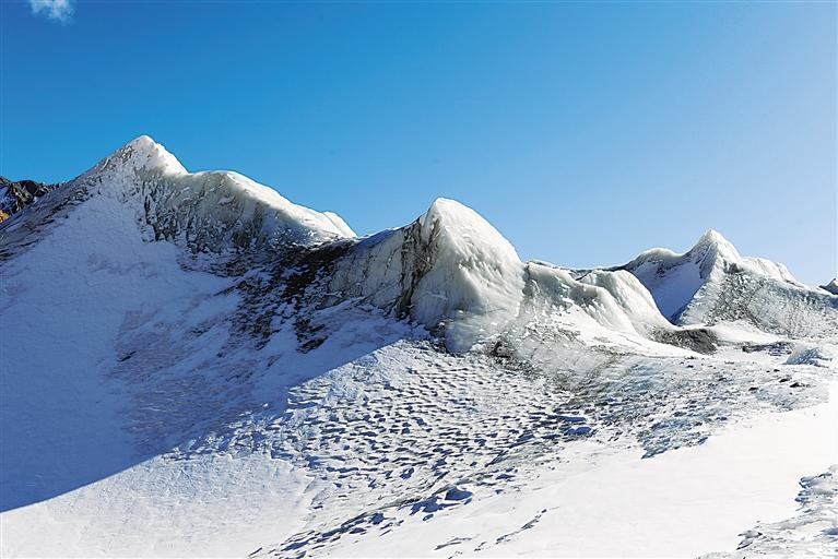 甘肃旅游丨看中国最美冰川