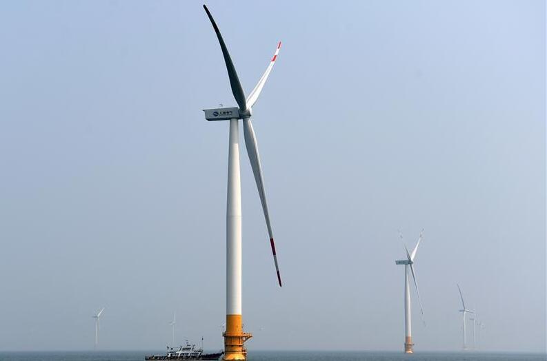 河北首个海上风电项目全部风机并网投运
