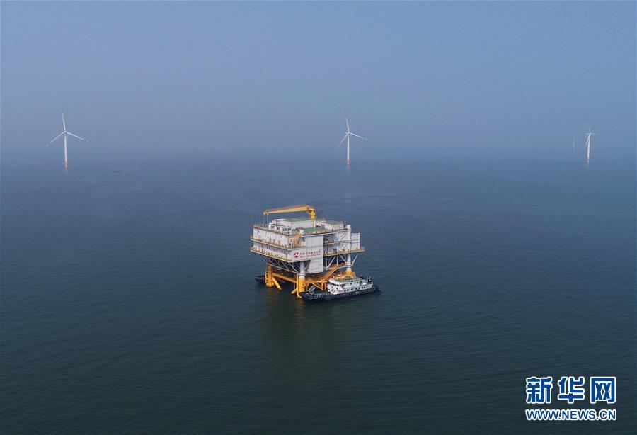 (经济)(1)河北首个海上风电项目全部风机并网投运