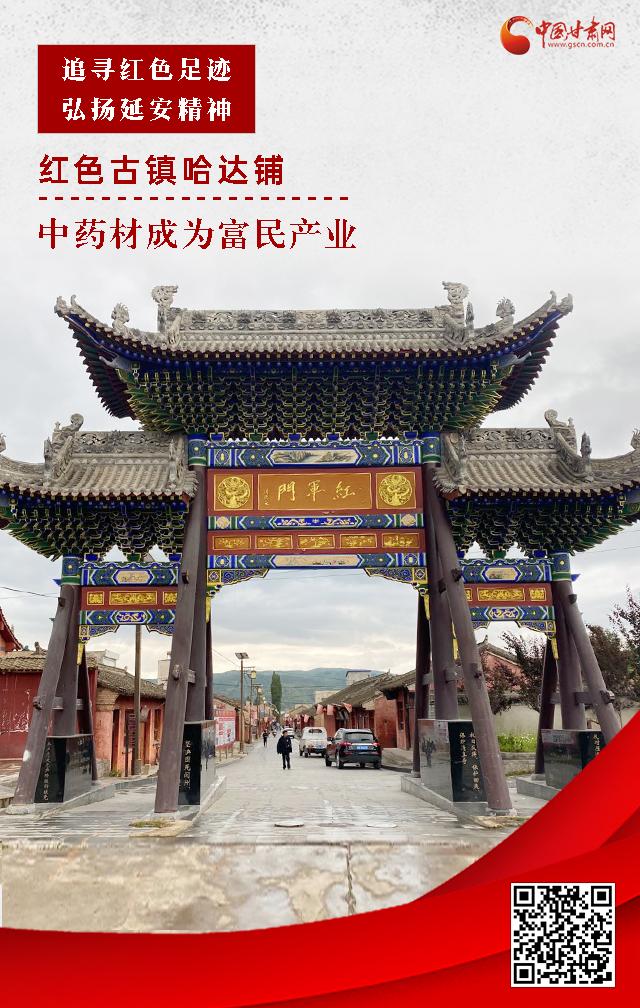微海报丨红色古镇哈达铺:中药材成为富民产业