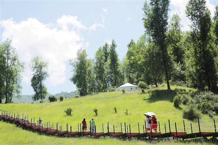 临夏州:休闲草长沟
