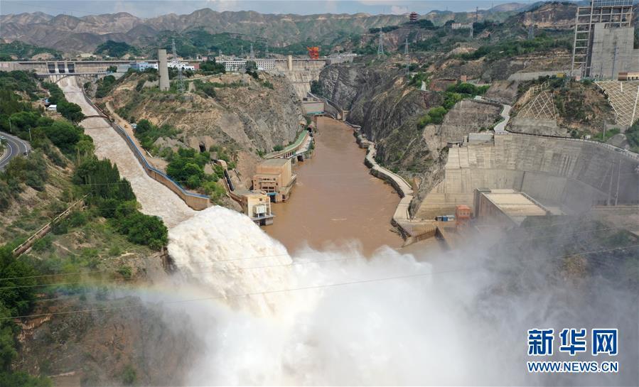 (防汛抗洪)(3)黄河上游多个水库加大下泄流量确保安全度汛