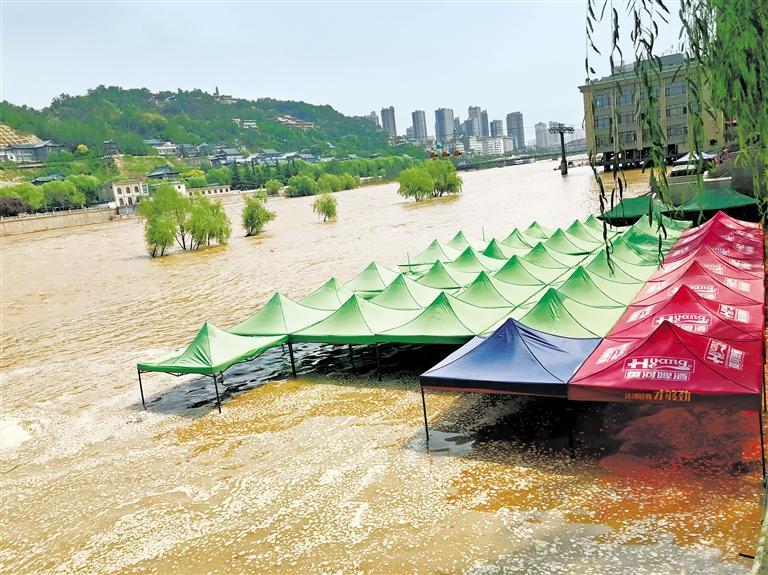 黄河水位仍然居高不下 汛情尚在可控范围之内