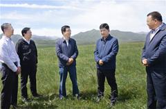 林铎:坚定不移筑牢国家西部生态安全屏障