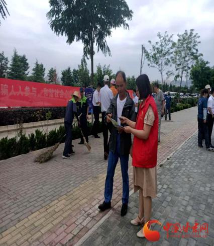 安宁区:宣传网络安全 抵制网络诈骗