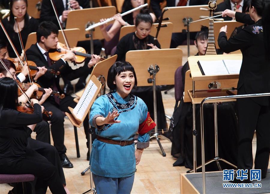 (文化)(3)音乐会版歌剧《洪湖赤卫队》亮相上海夏季音乐节