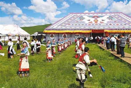 藏乡明珠绘就小康新图景——碌曲县脱贫攻坚工作综述